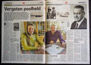 Boek over Sjef van Dongen in de Telegraaf.