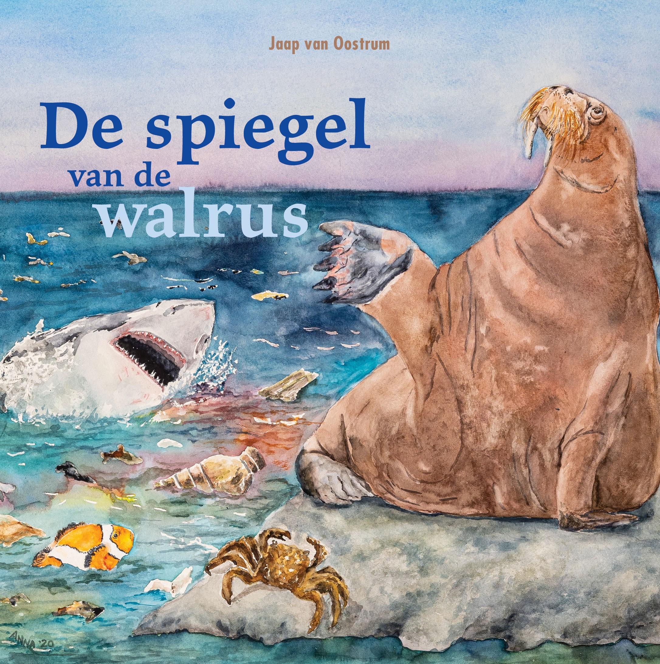 cover de spiegel van de walrus dichter Jaap van Oostrum